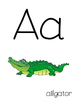 Alphabet with Clipart Images