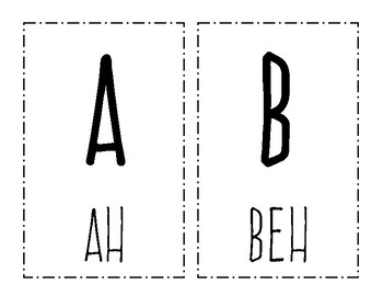 Alphabet with Spanish Phonetics