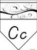 Alphabet with a Swirl (dnealian)