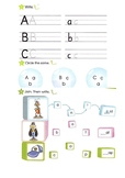 Alphabet with some exercises for kids