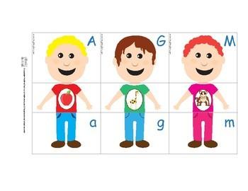 Alphabet worksheets and printables bundle