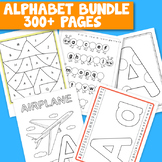 Alphabet worksheets and printables bundle