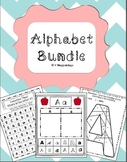 Alphabet Bundle - includes sorts, color by uppercase/lowercase, and searches!