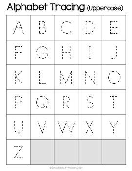 Alphabet/Daily Skills Folder