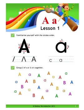 Alphabet/Phonics proven worksheets.