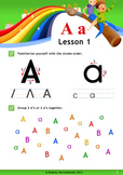 Alphabet/Phonics proven worksheets letter A-G.