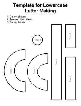 Alphabet:Upper & Lowercase Letter Making