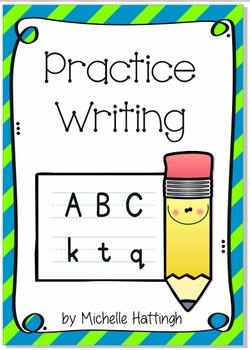 Alphabet_Practice writing