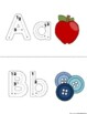 Alphabet Tracing Books and Alphabet Chart {Pre-Readers}