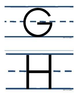 Alphabet Upper Case Letters: Set 2