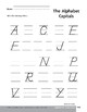 Alphabetic Awareness: Capitals & Lowercase Letters