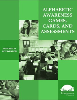 Alphabetic Awareness Games, Cards, and Assessments