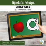 Alphabetic Principle Activities: Alphabet GIF Slides | Vir