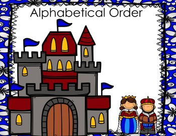 Alphabetical (ABC) Order PowerPoint