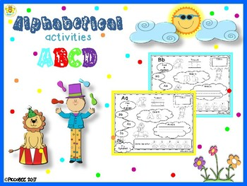 Alphabetical Activities - Carnival Edition