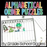 Alphabetical Order Activities and Worksheets