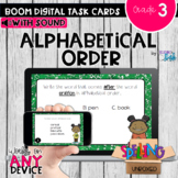 Alphabetical Order Boom Cards - Distance Learning