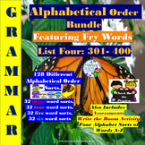 Alphabetical Order: Featuring Fry Words: List 4: 301-400