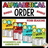 Alphabetical order worksheets - Bundle