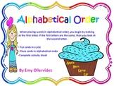 Alphabetical Order Center