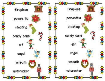 Alphabetical Order - Christmas