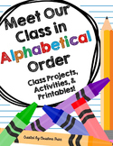 Alphabetical Order (ABC order)