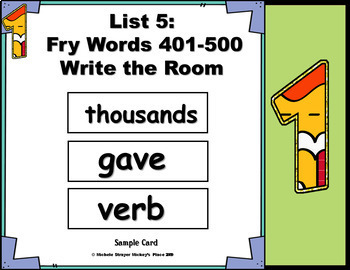 Alphabetical Order Featuring Fry Words 1-1000 Growing Mega Bundle