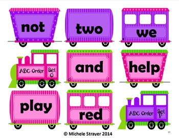 Alphabetical Order First Grade Bundle