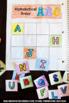 Kindergarten Alphabetical Order Practice, Alphabet Interactive Notebook