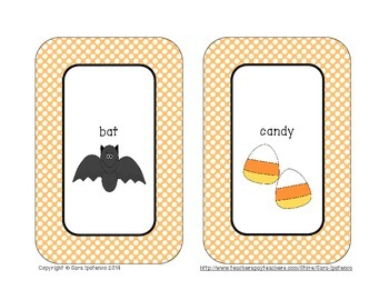 Alphabetical Order Literacy Center: Halloween Theme