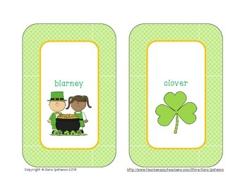 Alphabetical Order Literacy Center: St. Patrick's Theme
