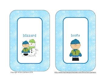 Alphabetical Order Literacy Center: Winter Theme