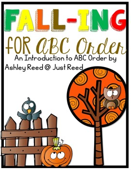 Alphabetical Order Mini Unit: FALL-ING for ABC Order
