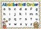 Alphabetical Order Posters- Spring Theme