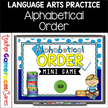 Alphabetical Order Powerpoint Mini Game