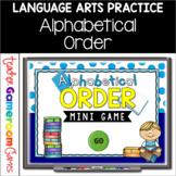 Alphabetical Order Powerpoint Mini Game