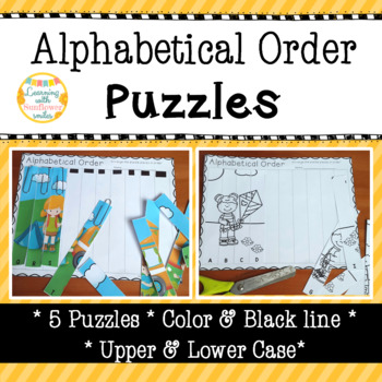 Alphabetical Order Puzzles