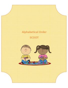 Alphabetical Order SCOOT