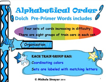 Alphabetical Order Second and Third Grade Pack