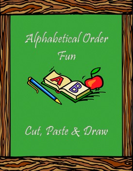 English Alphabetical Order Template