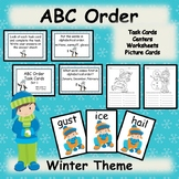 ABC Order Winter Task Cards Teaching Resources and Literacy Centers