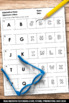 Alphabetical Order Worksheets Upper and Lower Case Letters, Alphabet Review