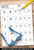 Alphabetical Order Worksheets for Kindergarten ESL or Spec
