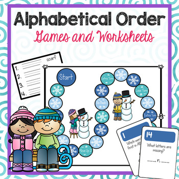 Letters In Alphabetical Order Worksheets Teaching Resources ...