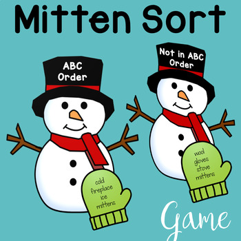 Alphabetical Order Worksheets and Games