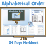 Alphabetical Order Worksheets to 2nd and 3rd letter