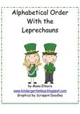 #Dec2019HalfOffSpeech Alphabetical Order with the Leprechauns