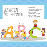 Alphabet and Sight Word Writing Practice Activities