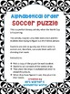 Alphabetical order - puzzle - soccer