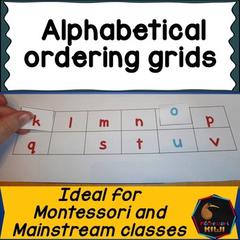 Alphabetical order sequencing and sorting